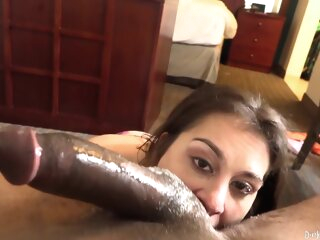 Redtube pretty brunette sloppy